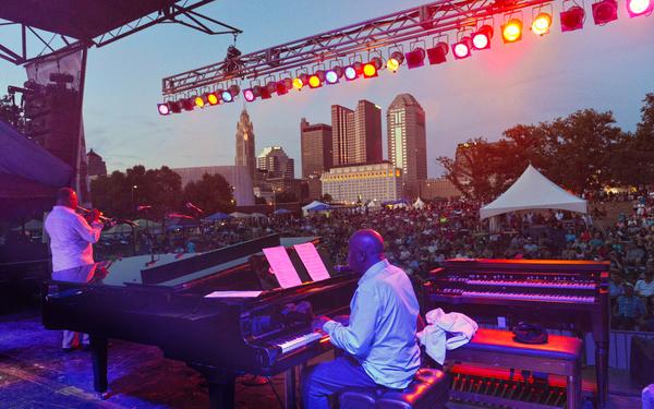 Jazz and Rib Festival, Columbus Ohio